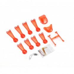 Vortex 150 Mini Crash Kit 1 Red Transparent