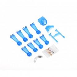 Vortex 150 Mini Crash Kit 1 Blue Transparent